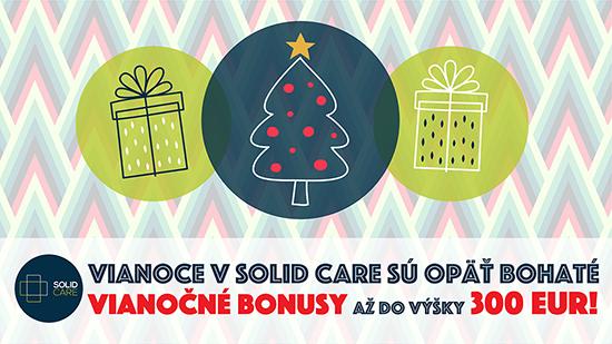 Vianočné bonusy SOLID CARE 2019